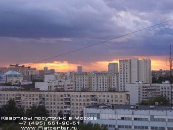 Панорама Академического района Москвы