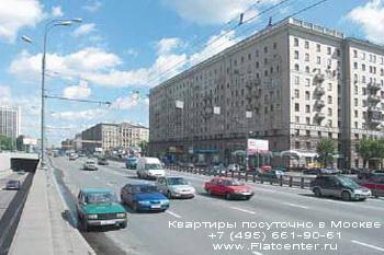 Проспект мира в Алексеевском районе Москвы