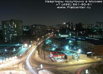 Вечернее фото Алексеевского района Москвы