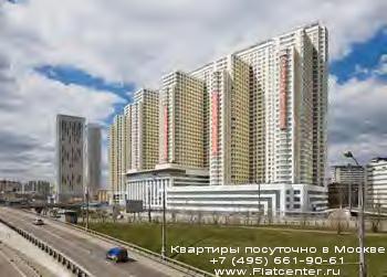 Ленинградский проспект в Беговом районе Москвы