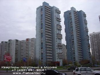 Вид на Дмитровский прспект в Бутырском районе Москвы