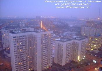 Вечерний вид на Бутырский район Москвы