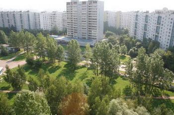 Панорама района Бибирево в Москве
