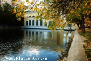 Вид на Чистые Пруды.Москва