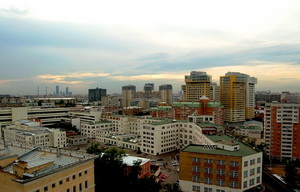 Вид на Донской район
