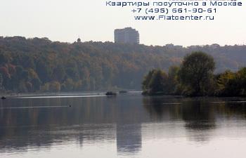 Москва-река в районе Филевский парк