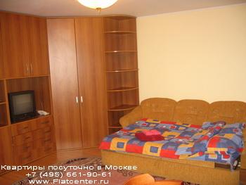 Квартира посуточно в районе Филевский парк.Гостиница на Красной Пресне