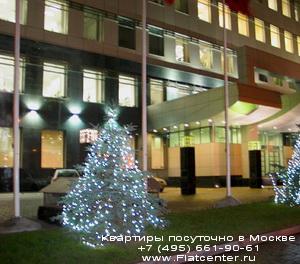 Накануне праздника в районе Гагаринском районе.Гостиницы и квартиры на устки Гагаринский р-н