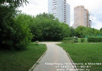Парк в Головинском районе Москвы