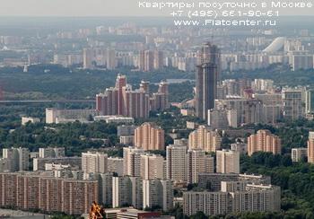 Панорама района Хорошево-Мневники