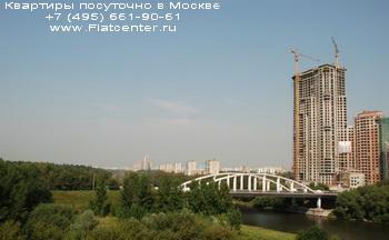 Мост в районе Хорошево-Мневники