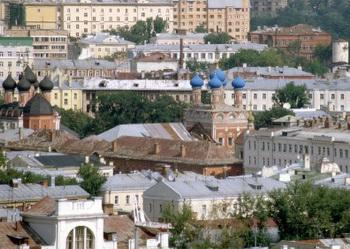 Панорамный вид на Красносельский район Москвы.Квартиры посуточно Красносельская