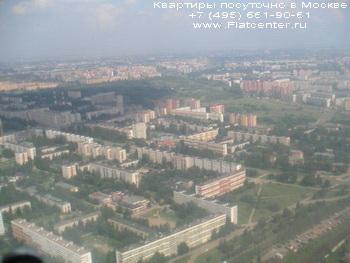 Красносельский район с высоты птичьего полета.Посуточная аренда на Краснопрудной