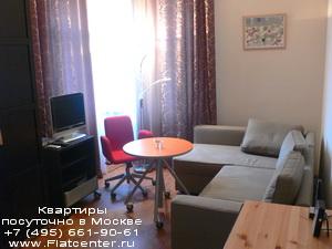 Квартира посуточно в районе Марьины Рощи.Гостиница недалеко от 3-е транспортного кольца