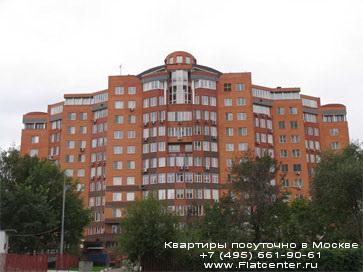 Жилой корпус в Крылатском районе