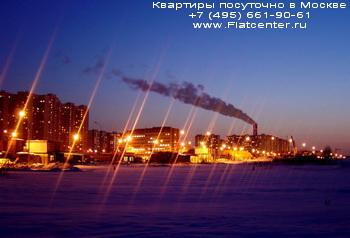 Район Крылатское в вечернее время