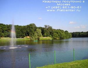 Районный парк в Кузьминках