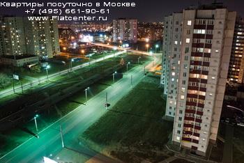 Панорама Левобережного района Москвы