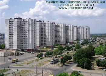 Ленинградское шоссе в Левобережном районе Москвы