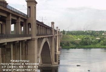 Мост в Левобережном районе