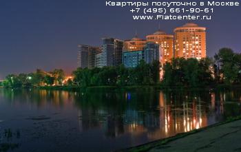 Химкинское водохранилище в Левобережном районе Москвы