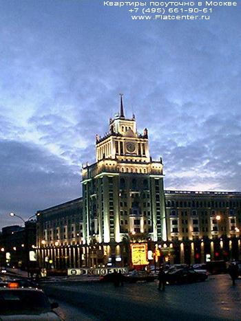 Гостиница Пекин на Маяковской площади