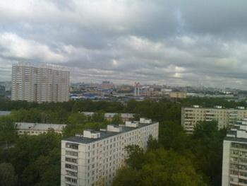 район Москворечье-Сабурово рядом с Москва-рекой