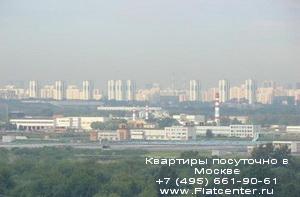 дневной вид района Нагорный
