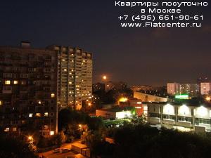 район Новогиреево ночью