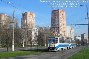 Зеленый проспект в районе Москвы Перово.Квартиры посуточно в Перово