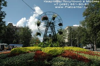 Место в центре района Москвы Покровское-Стрешнево