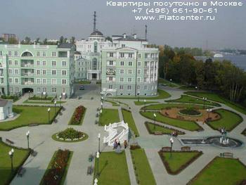 Гостиничный комплекс в районе Москвы Покровское-Стрешнево