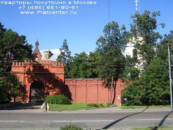 Церковь в районе Москвы Покровское-Стрешнево