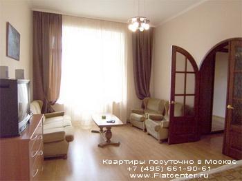Квартира посуточно на Пречистенке.Гостиница на ул.Б.Якиманка
