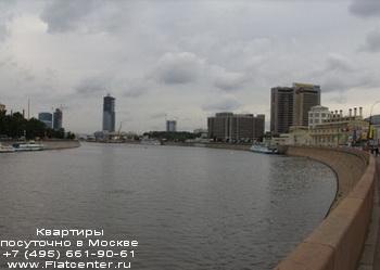 Москва-река в Пресненском районе Москвы