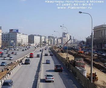 Фото Ленинградского проспекта в районе Москвы Аэропорт.Аэропорт - район Москвы