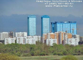 Высотные дома в районе Щукино