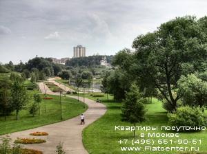Парк в Северном Бутово