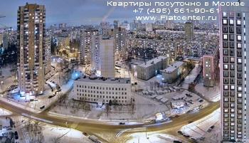 Панорама района Северное Тушино