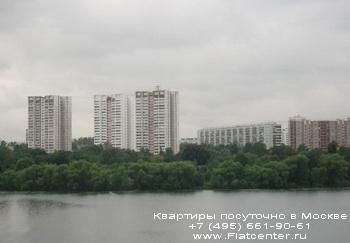 Химкинское водохранилище в Северном Тушино