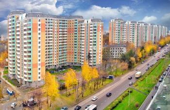 Панорама на район Солнцево