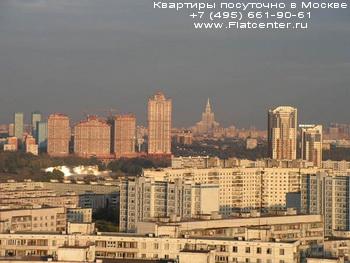 Панорама района Строгино