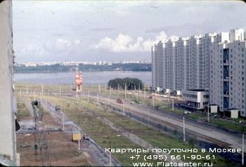 Строгинское шоссе в районе Строгино