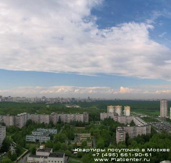 просторы района Ясненево