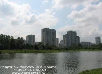 Вид на район Москвы Южное Тушино
