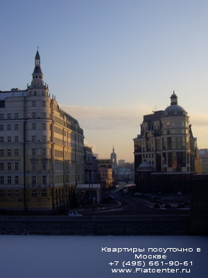Фото Замоскворечья на закате
