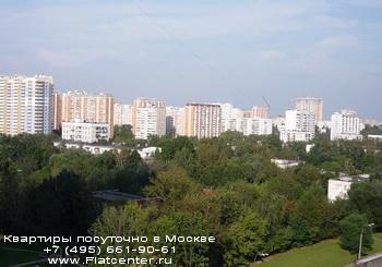 Панорама района Зюзино