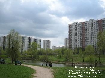 Вид на район Зябликово