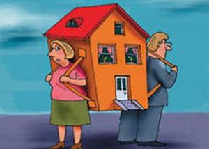 Что достается жене при разводе