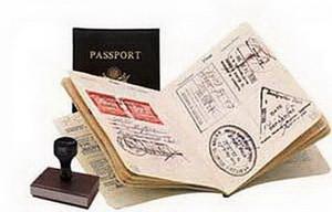 Получение визы на границе